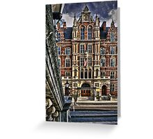 Royal College of Music London Greeting Card