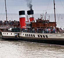 Waverley Paddle Steamer by Steve Purnell