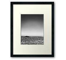 Thirsty Plains Framed Print
