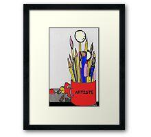 ARTISTE TOOLS Framed Print