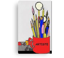 ARTISTE TOOLS Canvas Print
