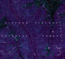 USGS Topo Map Washington State WA Tatoosh Lakes 244211 1989 24000 Inverted Sticker