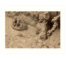 Boiling Mud Art Print
