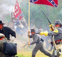 Civil War Reenactment Manassas, GA Sticker