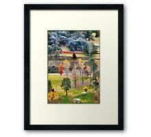 Picnic Spot Framed Print