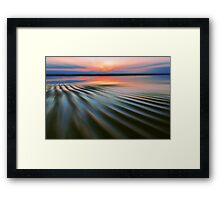 Rippling Shore Framed Print