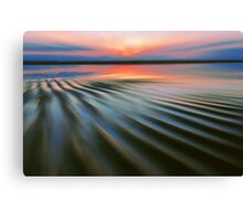 Rippling Shore Canvas Print