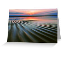 Rippling Shore Greeting Card