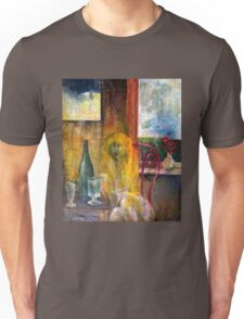 Woman Near Window Unisex T-Shirt