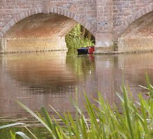 """Boat House Bridge""  River Soar, Barrow-upon-Soar, Leicestershire by Anita  Fletcher"