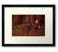 The Opium Den Framed Print