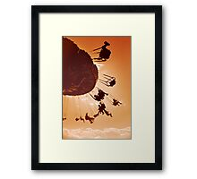 Inspired by Childlike Happiness Framed Print