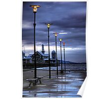 Early Morning Light over Cunningham Pier Poster