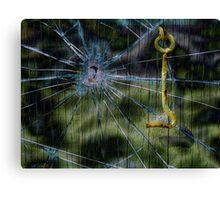 Forced Entry Canvas Print