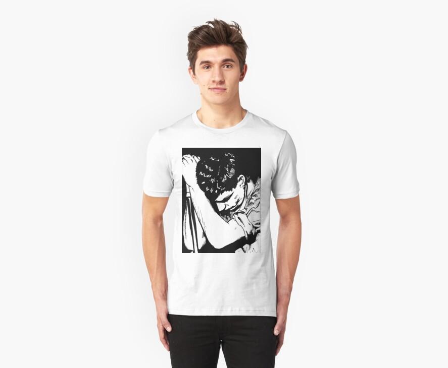 Ian Curtis by Michael  Webb