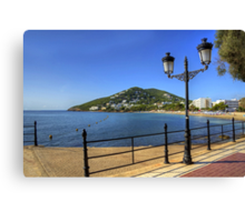 Santa Eulalia, Ibiza Canvas Print