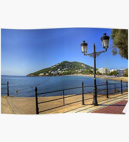 Santa Eulalia, Ibiza Poster