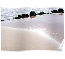 silky sand Poster