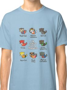 The Justice Cats of Ameowrica Classic T-Shirt