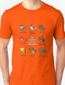 The Justice Cats of Ameowrica Unisex T-Shirt