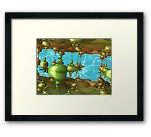 Deep Sea Aliens Framed Print