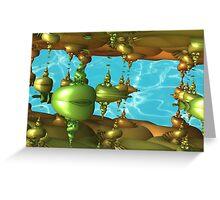 Deep Sea Aliens Greeting Card