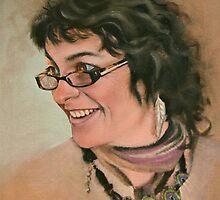 Artist Jill Shalless by Mick Kupresanin