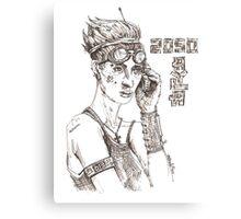 Atla, 2050 Canvas Print