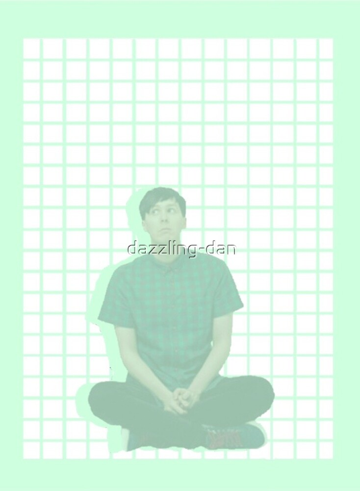 Quot Phil Lester Grid Pastel Green Aesthetic Quot By Dazzling Dan