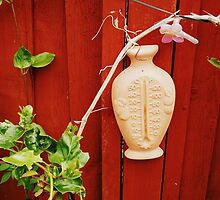 Garden thermometer.  by Beth Mackelden