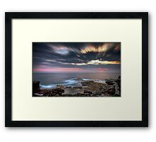 The Stranded Fishermen Framed Print