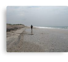 shell hunt Canvas Print
