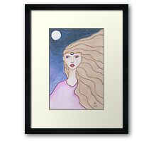 Arianrhod Goddess of Avalon Framed Print