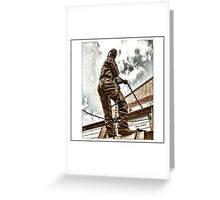 WORKER Greeting Card