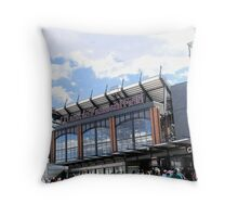 Home of the Eagles Throw Pillow