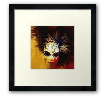 Gothic Mask 3 Framed Print