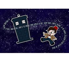 A Timelord Needs... Photographic Print