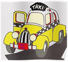 BEST RIDE TAXI Poster