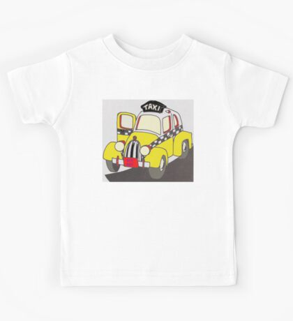 BEST RIDE TAXI Kids Tee