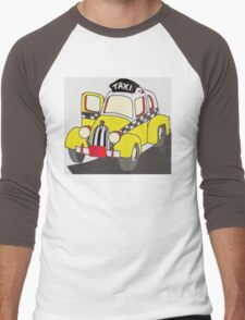 BEST RIDE TAXI Men's Baseball ¾ T-Shirt