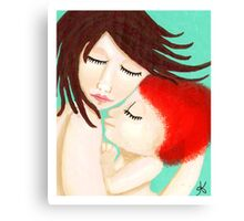 Attachment Parenting & Natural Mom Canvas Print