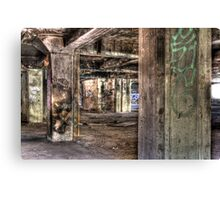 Abandoned Architecture Canvas Print