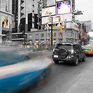 A dash of traffic by Gary Cummins