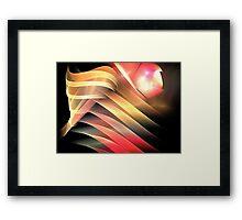 Butterfly Profile Framed Print