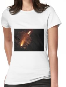 The Fun with Fire Womens Fitted T-Shirt