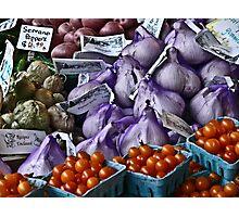 Farmer's Market Photographic Print