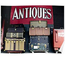 Antiques Poster