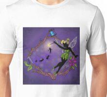 Silhouette Tinkerbell Unisex T-Shirt