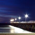 Pier At Dusk by Andrew S