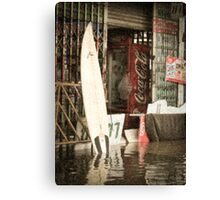 Coca-Cola Surfboard Canvas Print